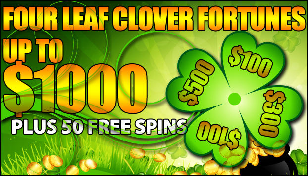 Up to 1000 Four Leaf Clover
