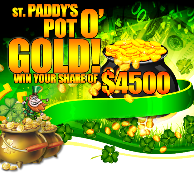 stPaddy Pot Of Gold