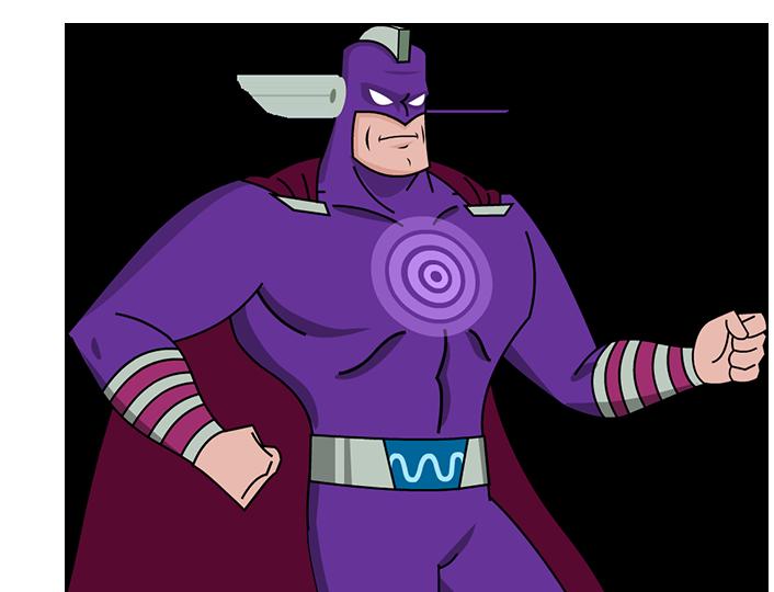 Alpha Squad Origins: Captain Shockwave Hero Image Inner 1