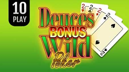 Bonus Deuces Wild Poker 10 Play