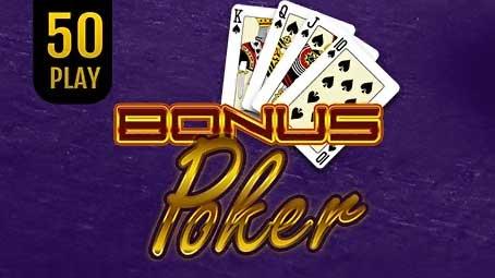 Bonus Poker 50 Play