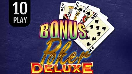 Bonus Poker Deluxe 10 Play
