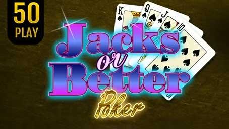 Jacks Or Better Poker 50 Play